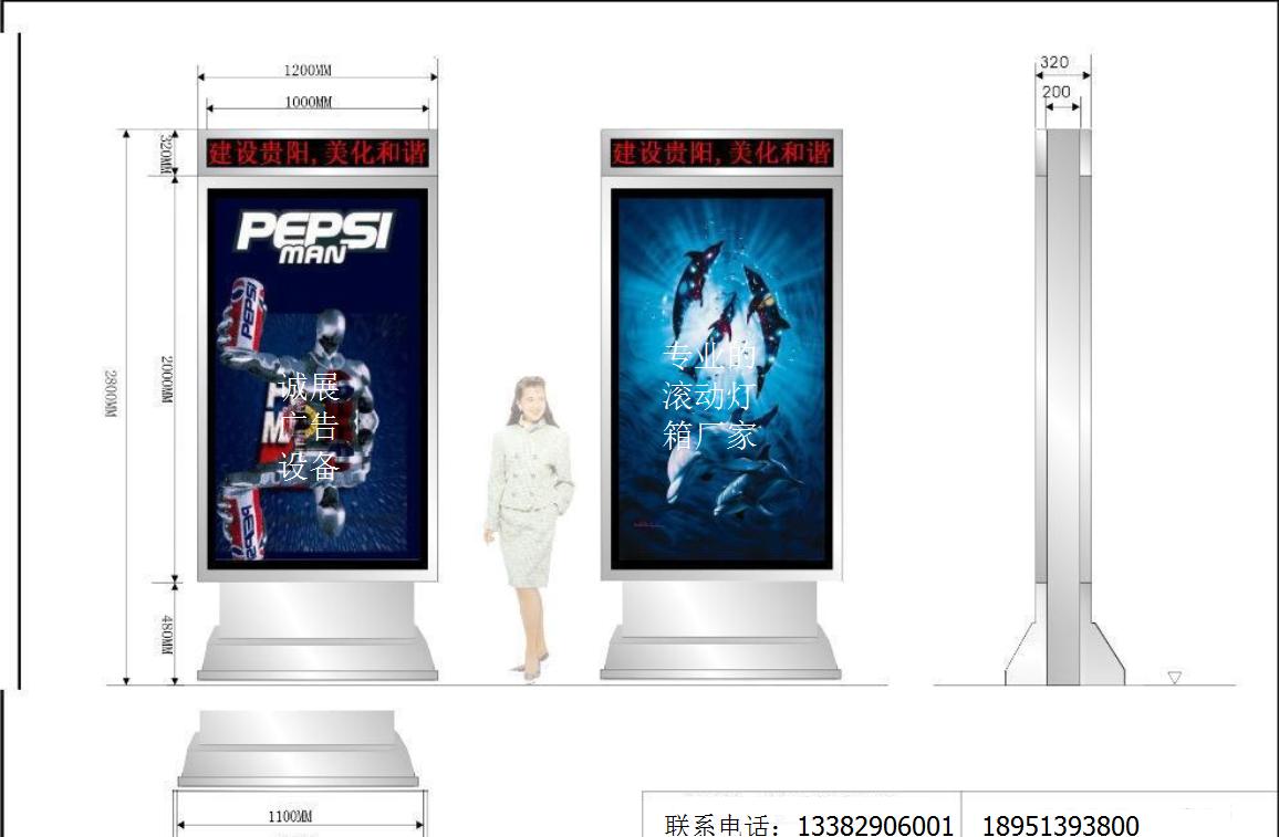 大家来说说户外灯箱,广告灯箱的特性图片