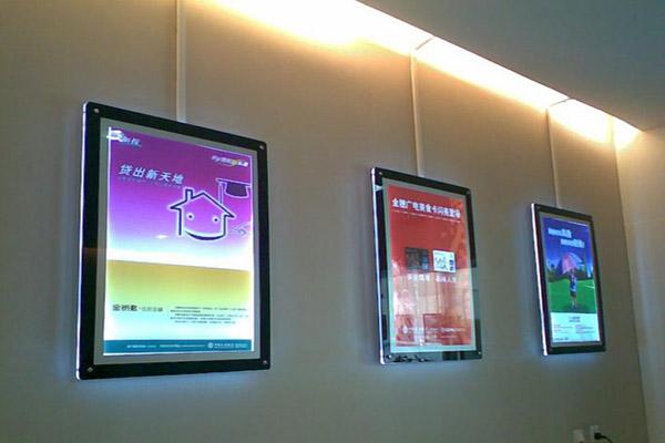 壁挂广告灯箱